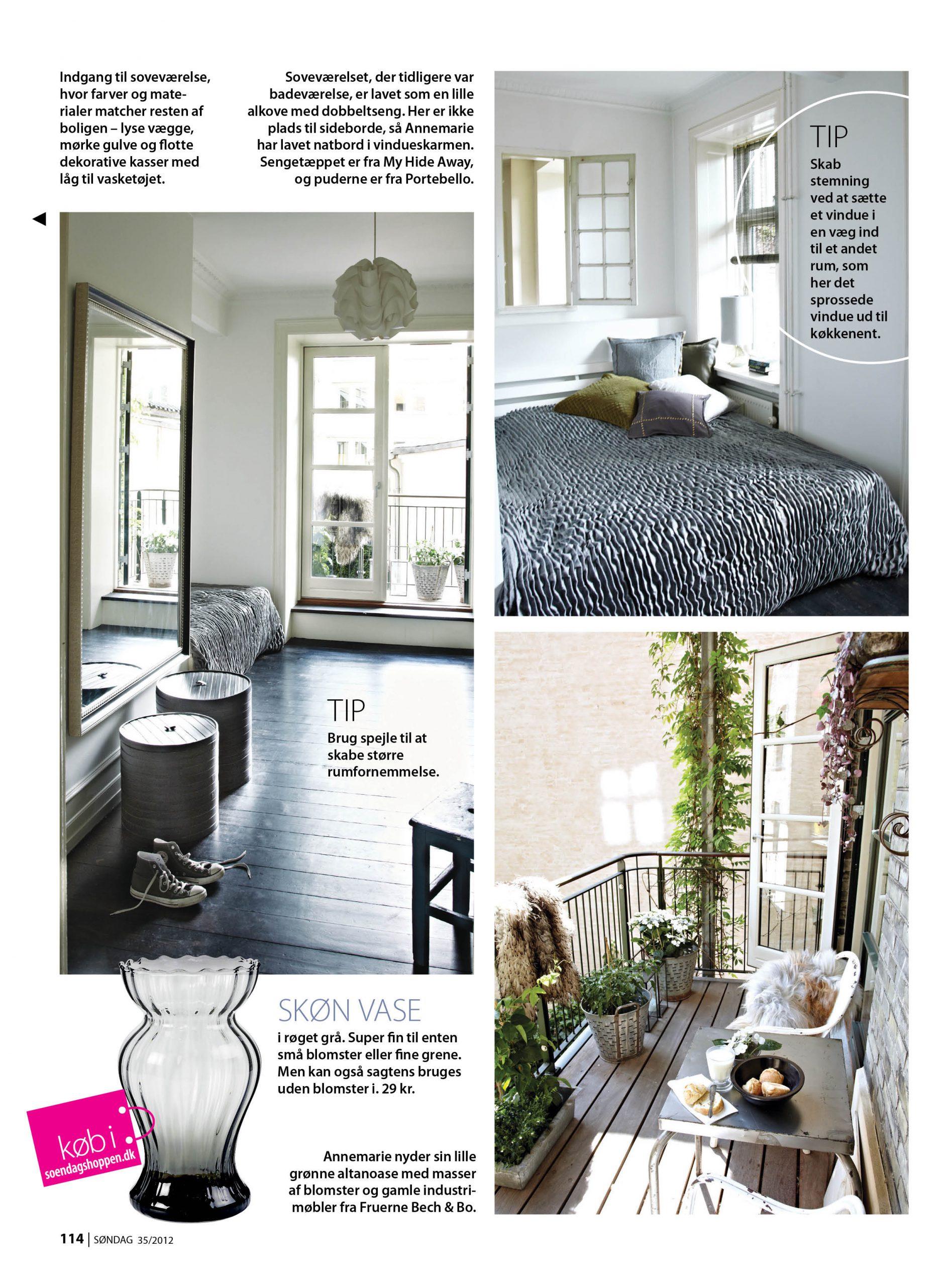 Lindebjerg Design article 1 in Ugebladet Søndag