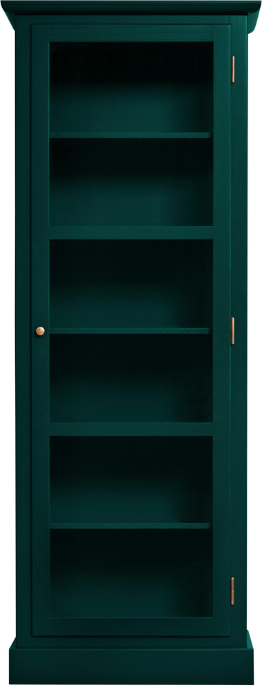 Produktbild von Lindebjerg Design Color N1 Green Vitrine Cabinet