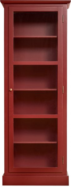 Product image of Lindebjerg Design Color N1 Red Vitrine Cabinet
