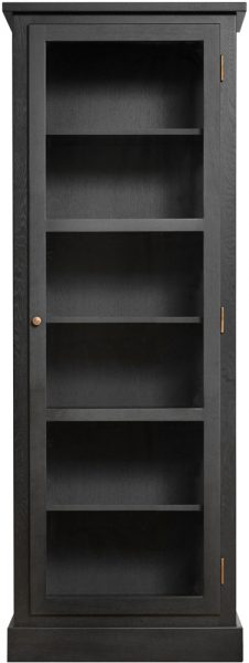 Product image of Lindebjerg Design Dark Oak N1 Vitrine Cabinet