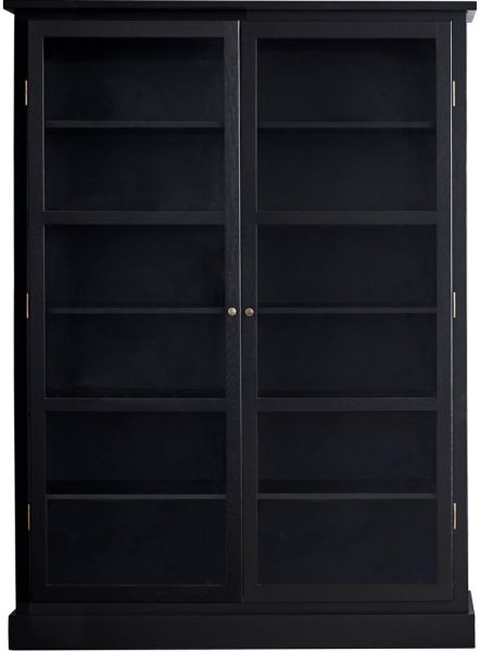 Product image of Lindebjerg Design Dark Oak N2 Vitrine Cabinet