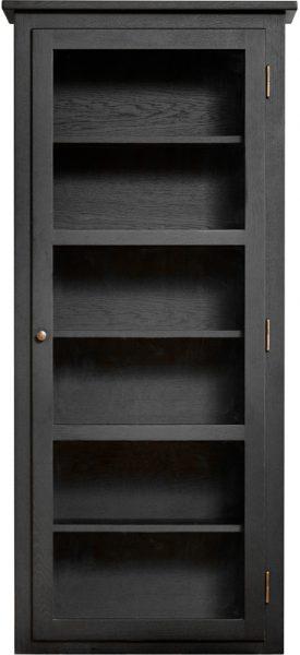 Product image of Lindebjerg Design Dark Oak N4 Vitrine Cabinet