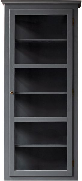Product image of Lindebjerg Design Color N4 Anthracite Vitrine Cabinet
