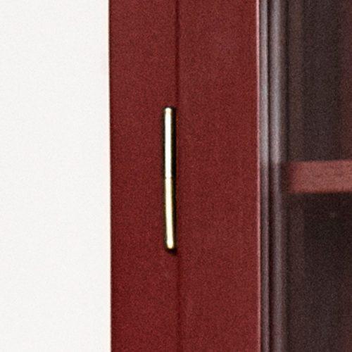 Close up image of Lindebjerg Design Color N4 Vitrine Cabinet Door hinge