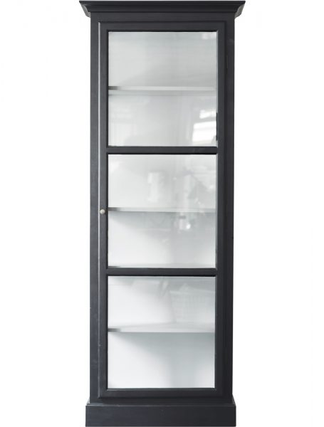Product image of Lindebjerg Design Classic V1 Anthracite Vitrine Cabinet