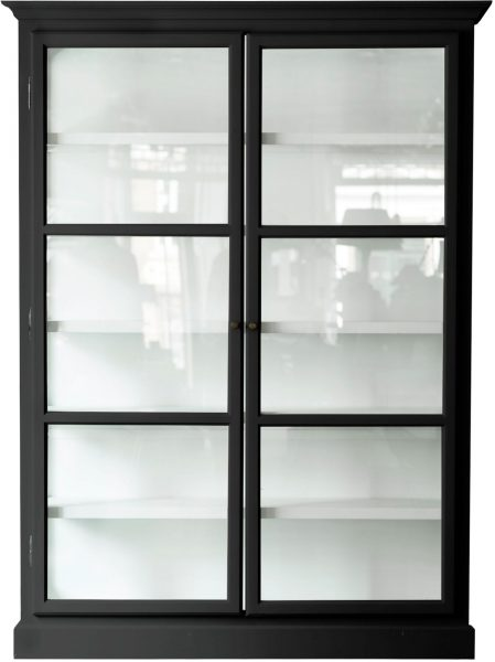 Product image of Lindebjerg Design Classic V2 Black Vitrine Cabinet