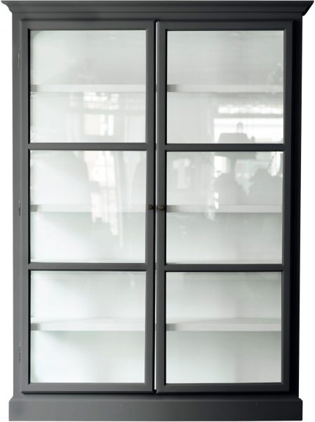 Product image of Lindebjerg Design Classic V2 Anthracite Vitrine Cabinet