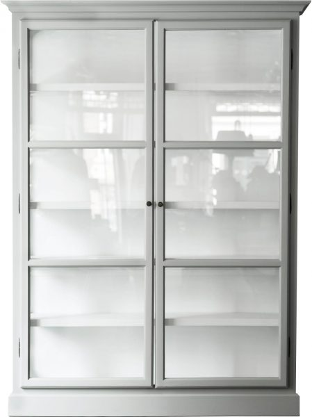 Product image of Lindebjerg Design Classic V2 Gray Vitrine Cabinet