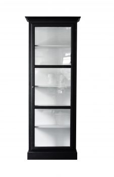 Product image of Lindebjerg Design Classic V1 Black vitrine Cabinet