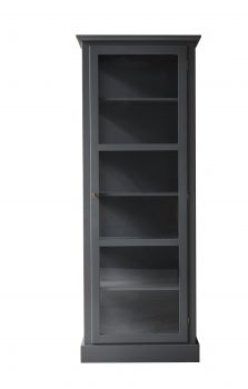 Product image of Lindebjerg Design Color N1 Anthracite vitrine Cabinet