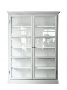 Product image of Lindebjerg Design Classic V2 White vitrine Cabinet
