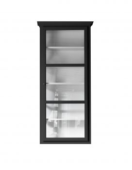 Product image of Lindebjerg Design Classic V4 Black vitrine Cabinet