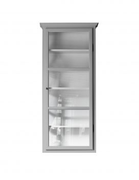 Product image of Lindebjerg Design Classic V4 Gray vitrine Cabinet